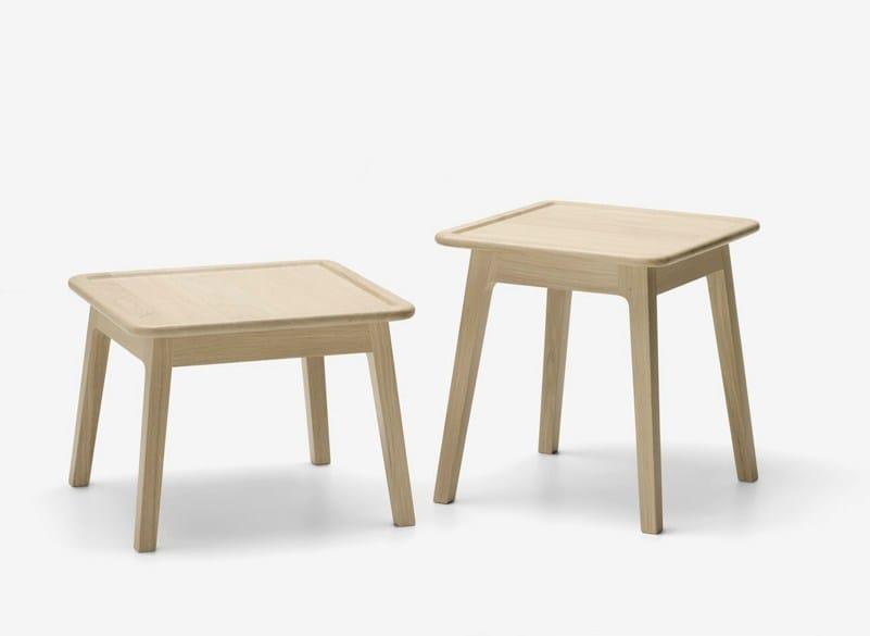 Square oak coffee table LAIA | Coffee table - ALKI
