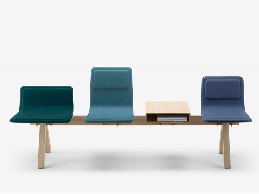 FABRIC BEAM SEATING LAIA COLLECTION BY ALKI DESIGN JEAN