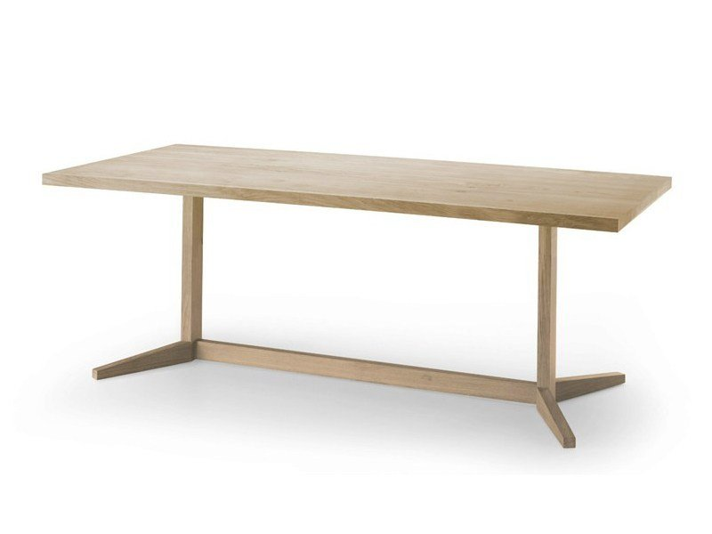 Rectangular oak table KUSKOA | Table by ALKI