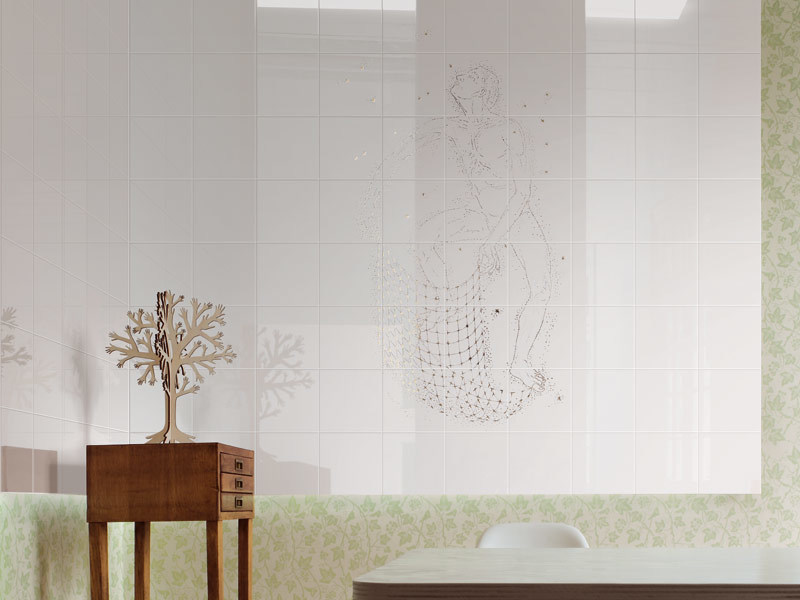 Ceramic wall tiles PESCATORE DI STELLE - CERAMICA BARDELLI