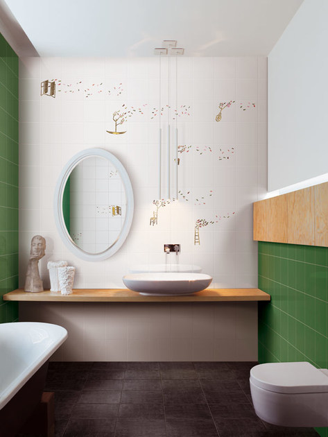 Rivestimento in ceramica SOFFIO By Ceramica Bardelli design Marcello Chiarenza