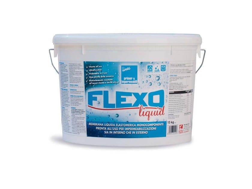Liquid waterproofing membrane FLEXO LIQUID by GRAS CALCE