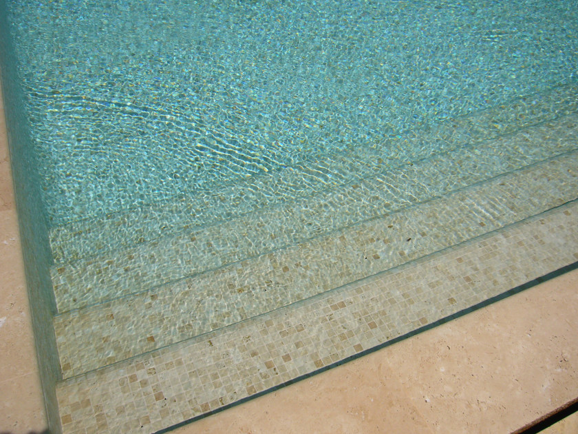 travertine pool liner by pedrantiqua pedras