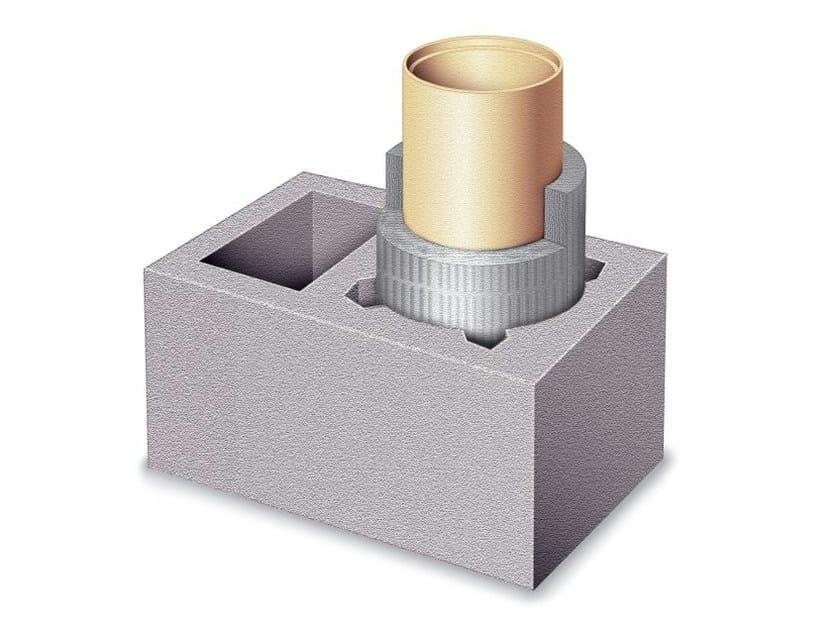 Refractory ceramic flue SIH TONDO BT EXTRA - Schiedel