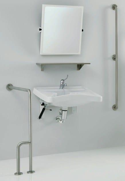 Lavabo per disabili in porcellana 130 lavabo per for Listino velux 2016