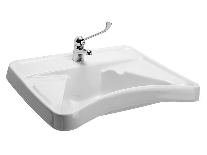 Lavabo per disabili in porcellana 130 lavabo per for Accessori bagno disabili