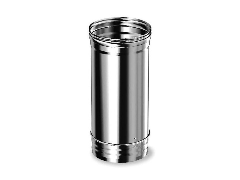 Canna fumaria in acciaio inox adw aria by schiedel - Canna fumaria esterna prezzi ...