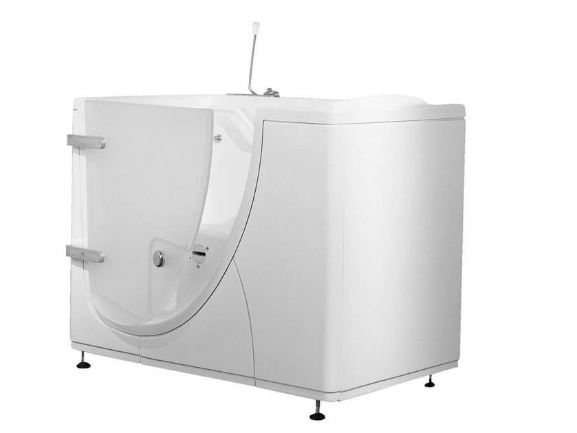 Bagnosicuro 650 vasca da bagno con porta by ponte giulio - Porta vasca da bagno ...