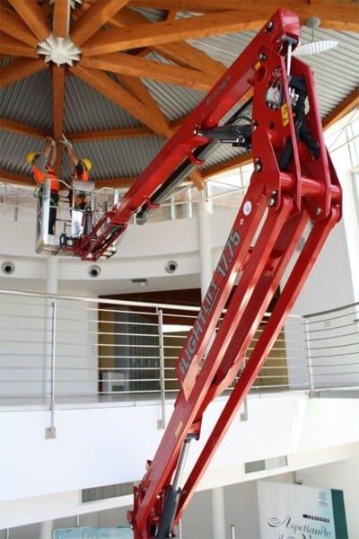 Overhead platform LIGHTLIFT 17.75 PERFORMANCE IIIS MK2 - HINOWA