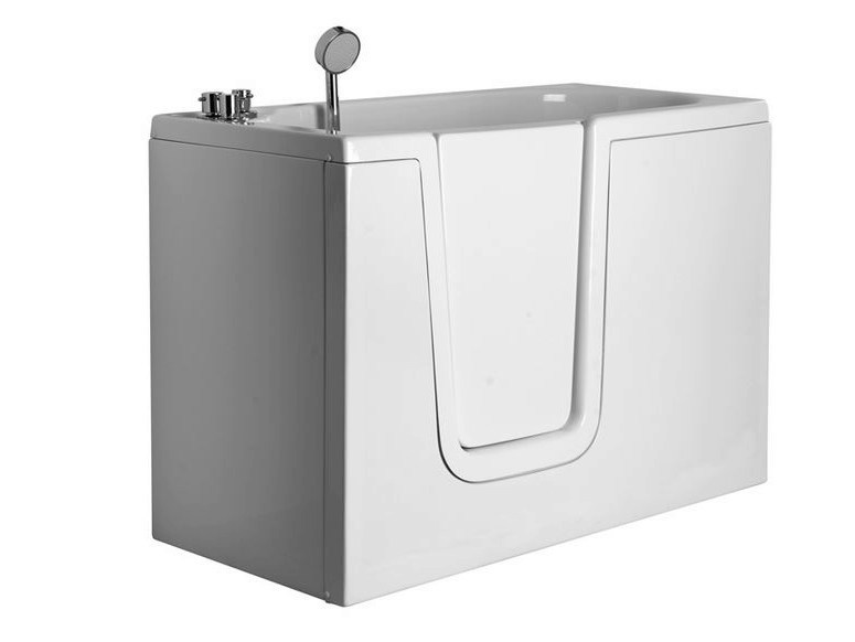 Vasca da bagno in vetroresina con porta 650 vasca da - Vasca bagno con porta ...