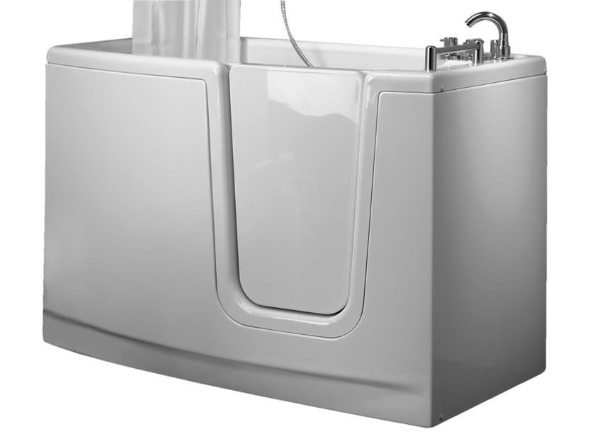 Vasca da bagno in vetroresina con porta 650 vasca da - Lucidare vasca da bagno vetroresina ...