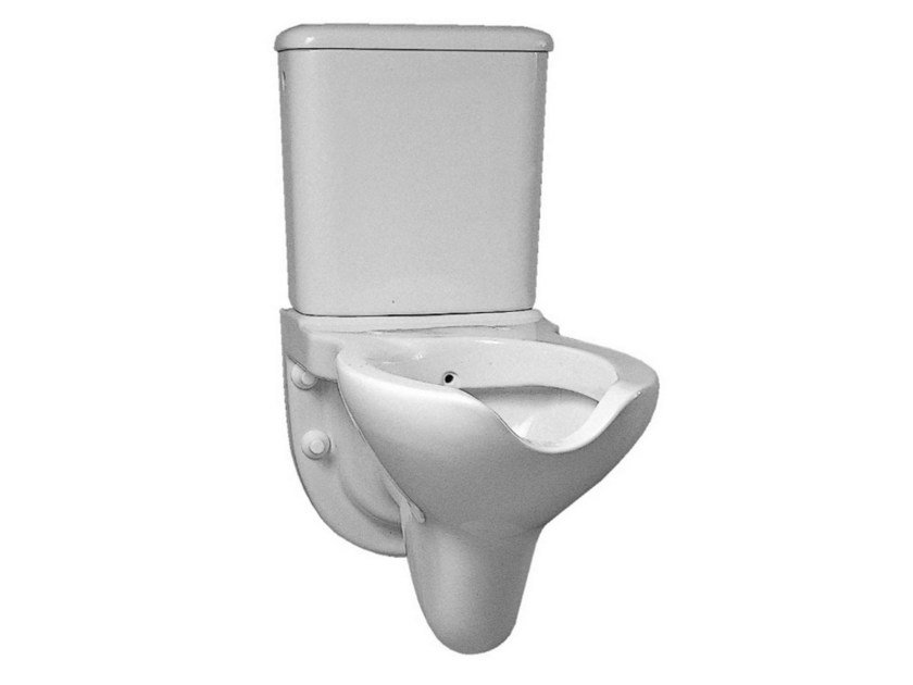 wc para discapacitados monobloque suspendido de porcelana