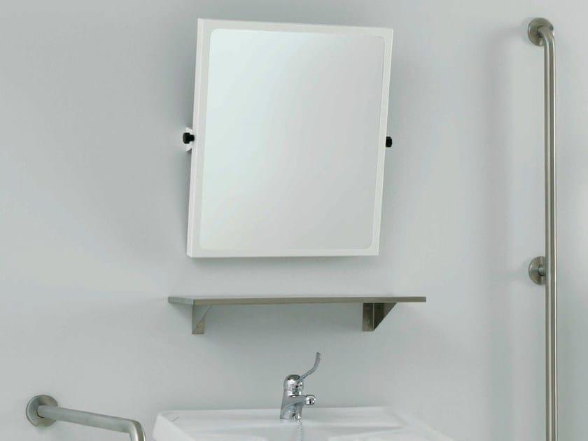 Mensola bagno in acciaio inox bagnosicuro inox mensola - Mensola acciaio bagno ...
