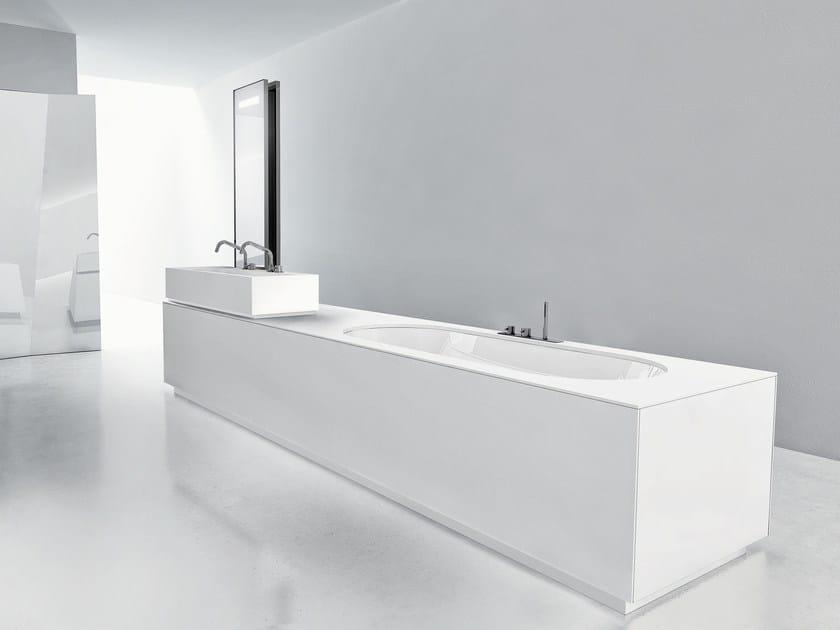 Bathroom furniture set BATHTUB WASHBASIN_LINEAR 02 - MAKRO