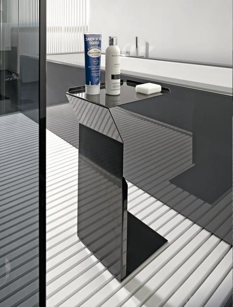 Sgabello per bagno in metallo type sgabello per bagno in metallo makro - Sgabello per bagno ...