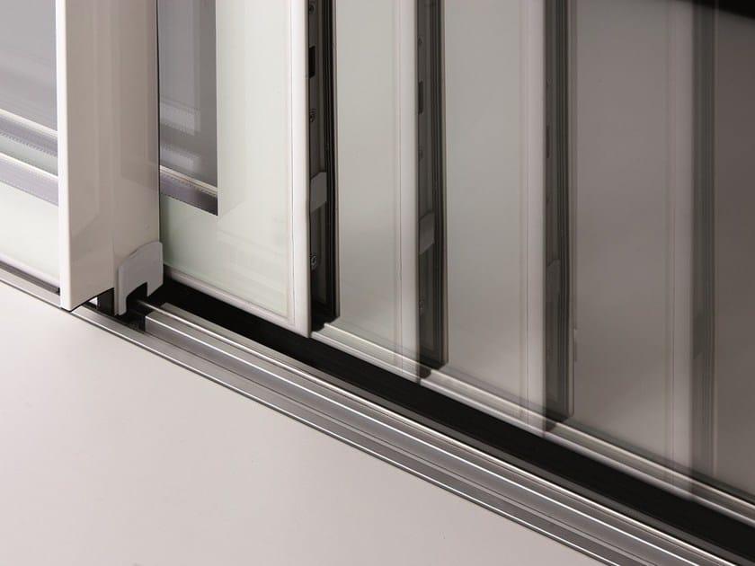 Porta finestra a taglio termico scorrevole es zero1 alza e for Es finestra