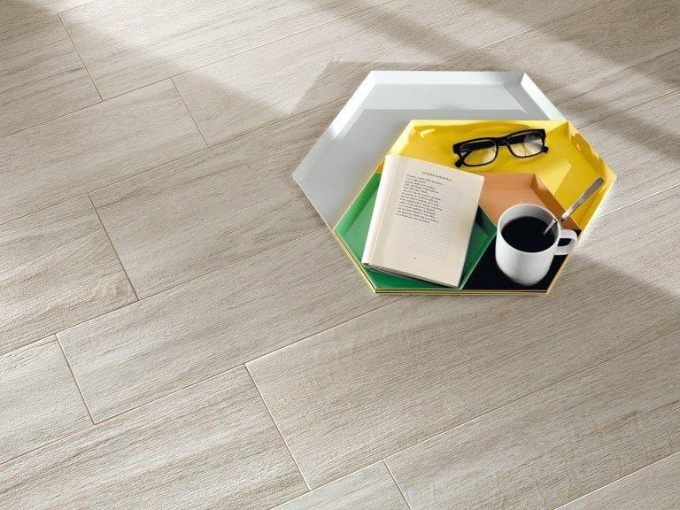 Antibacterial indoor/outdoor flooring with wood effect BIO PLANK MICROBAN® - LEA CERAMICHE