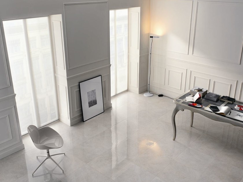 Porcelain stoneware flooring with marble effect SUPERNATURAL | Flooring by FAP ceramiche