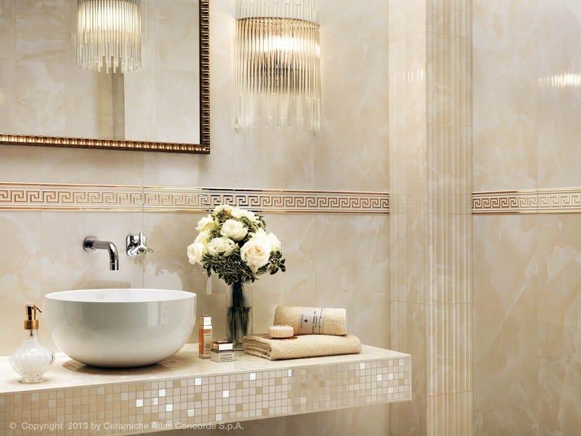 Rivestimento in ceramica a pasta bianca effetto marmo marvel wall ...