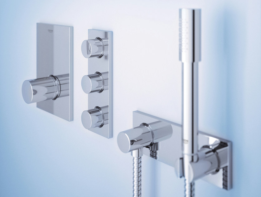 Thermostatic shower mixer with hand shower GROHTERM F - Grohe