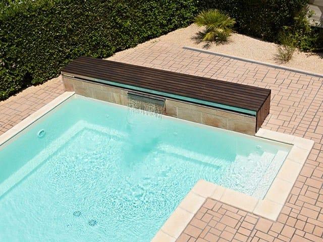 Outdoor floor tiles STENCILTOP by IDEAL WORK