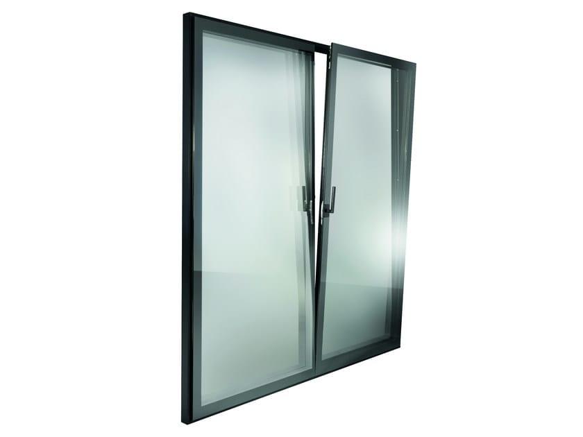 Finestra a battente a taglio termico con triplo vetro es - Finestre triplo vetro ...