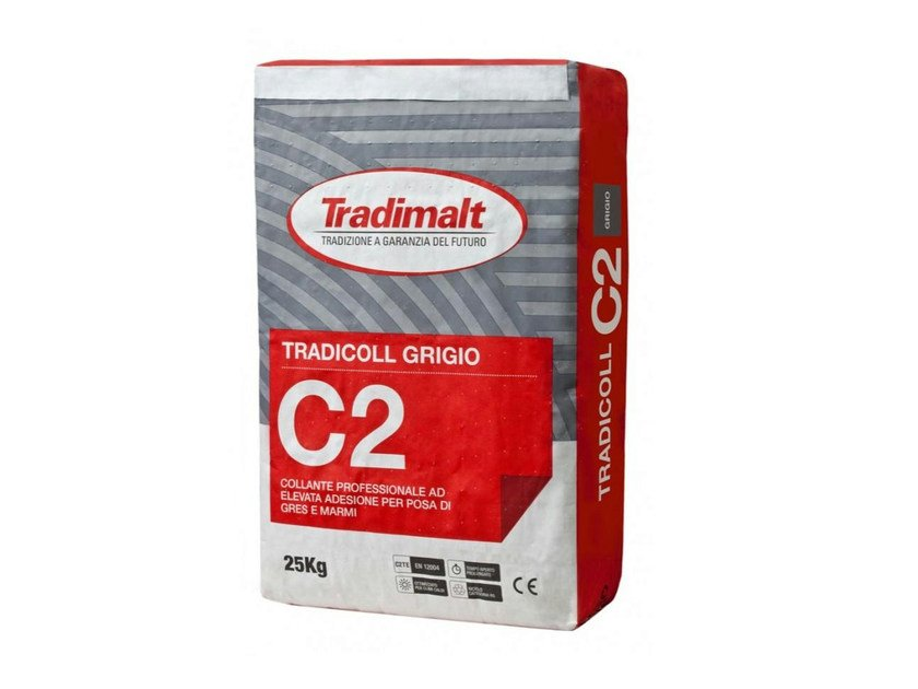 Cement-based glue C2 GRIGIO - TRADIMALT