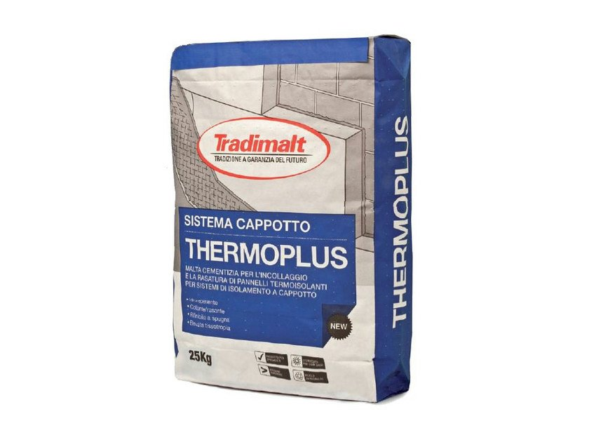 Cement-based glue THERMO PLUS by TRADIMALT