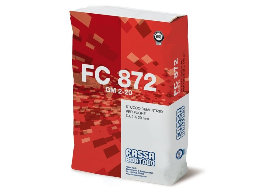 Flooring grout FC 872 GM 2-20 by FASSA