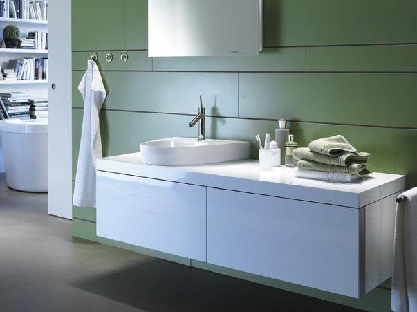 mobile lavabo sospeso collezione starck 2 by duravit italia design philippe starck. Black Bedroom Furniture Sets. Home Design Ideas