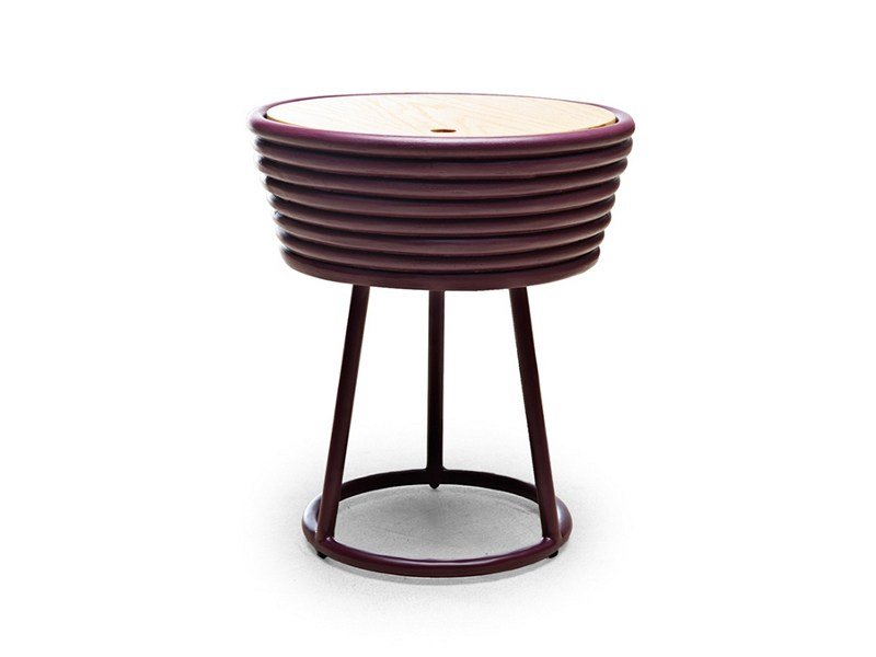 Low rattan coffee table ZIGGY | Coffee table - KENNETH COBONPUE