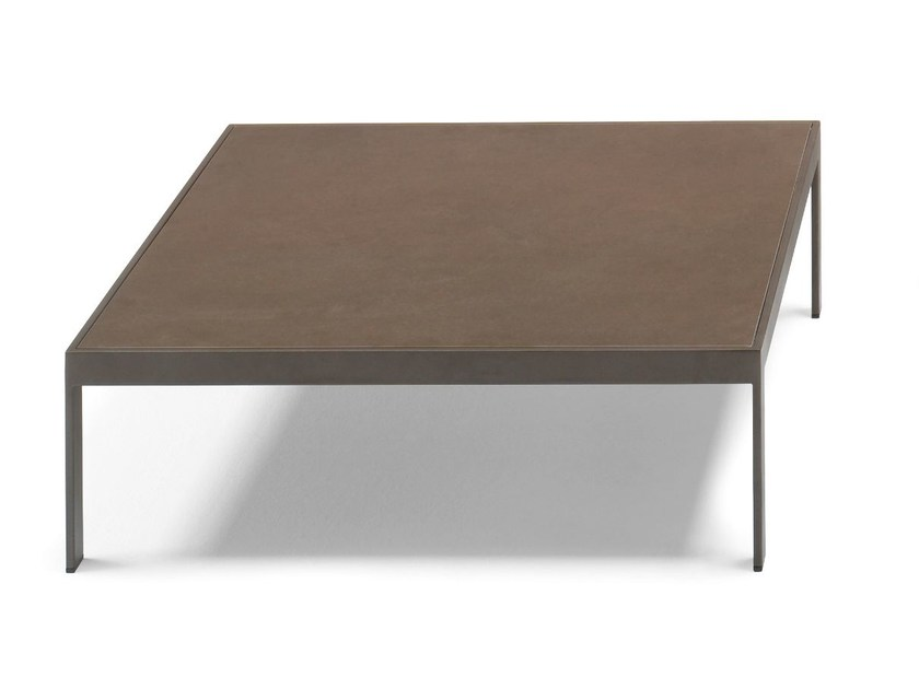 Low square coffee table SAND | Square coffee table - Andreu World