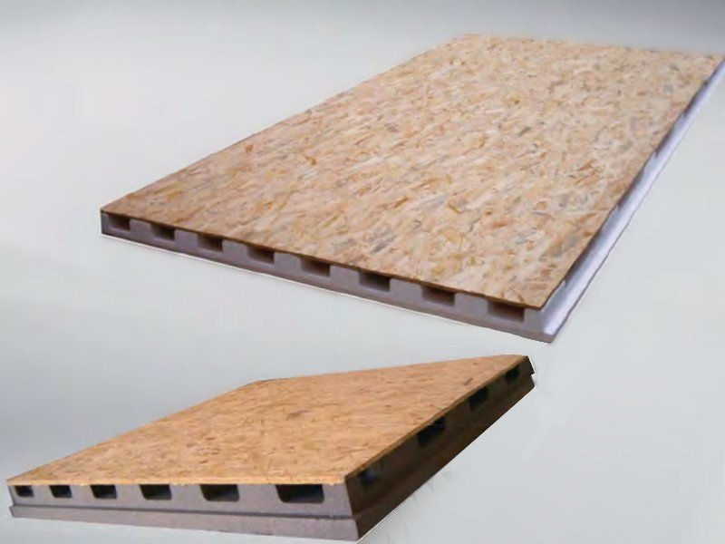 Thermal insulation panel ISOWOOD VENTILATO - SULPOL