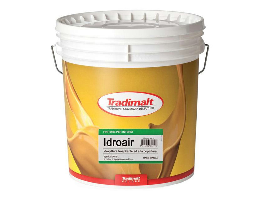 Breathable water-based paint IDROAIR by TRADIMALT