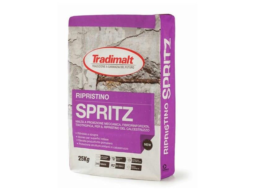 Thixotropic mortar SPRITZ RIPRISTINO by TRADIMALT