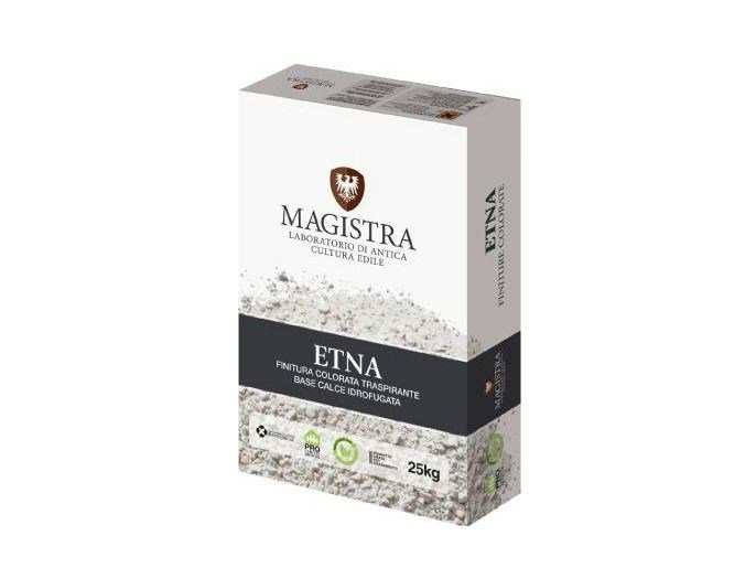 Hydraulic and hydrated lime based plaster ETNA by Magistra