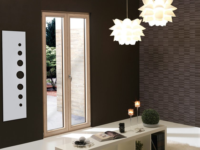 Wood-PVC window ESTROSA - Schulz Italia