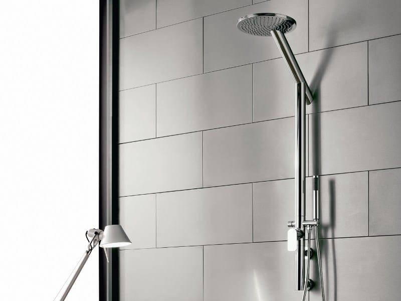 Shower panel with hand shower SENTO | Shower panel - Graff Europe West