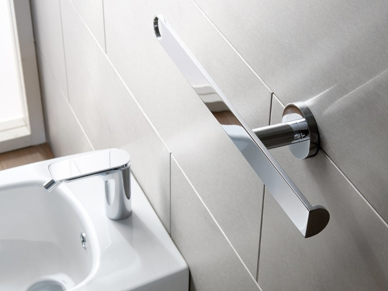 Toilet roll holder / towel rack SENTO | Towel rack - Graff Europe West
