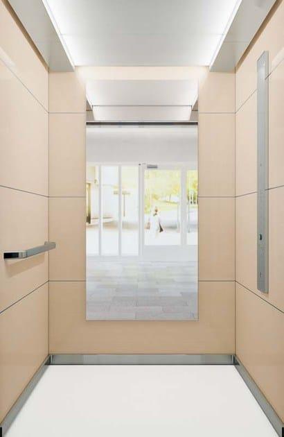 ascensore senza locale macchina kone monospace 500 kone. Black Bedroom Furniture Sets. Home Design Ideas