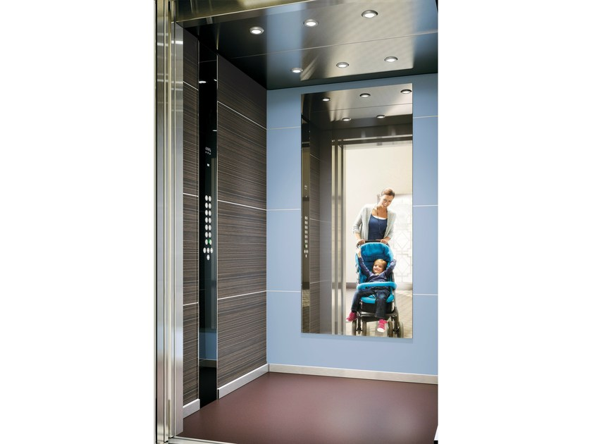 Machine Room-Less lift MONOSPACE® 500 - KONE