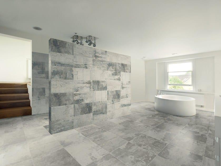 Pavimento rivestimento in gres porcellanato design industry ceramiche refin - Le piastrelle del pavimento di un locale ...
