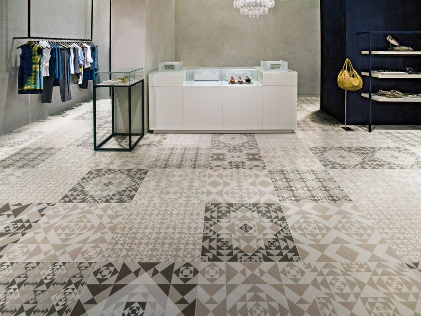 Pavimento in gres porcellanato carpet ceramiche refin for Gres porcellanato leroy merlin