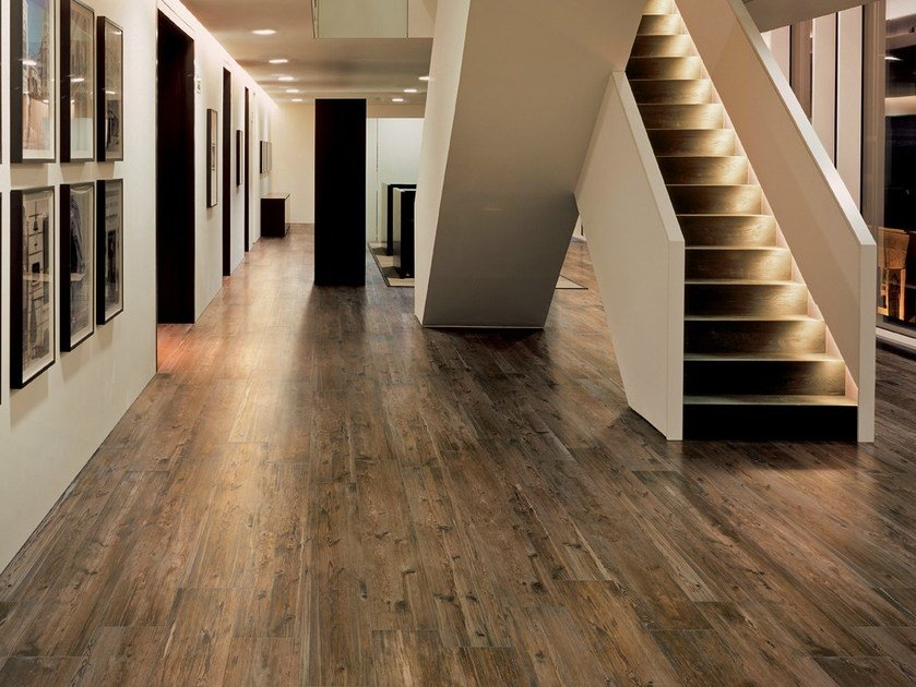 Porcelain stoneware flooring with wood effect LARIX - Ceramiche Refin