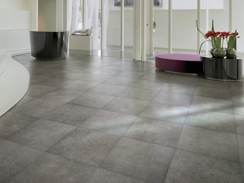 Pavimento in gres porcellanato effetto pietra nordik by ceramiche ...