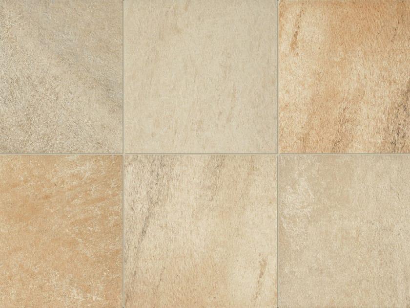 Revestimiento de suelo de gres porcel nico efecto piedra - Suelo gres porcelanico ...