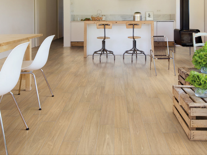 Porcelain stoneware flooring with wood effect TRAIL - Ceramiche Refin