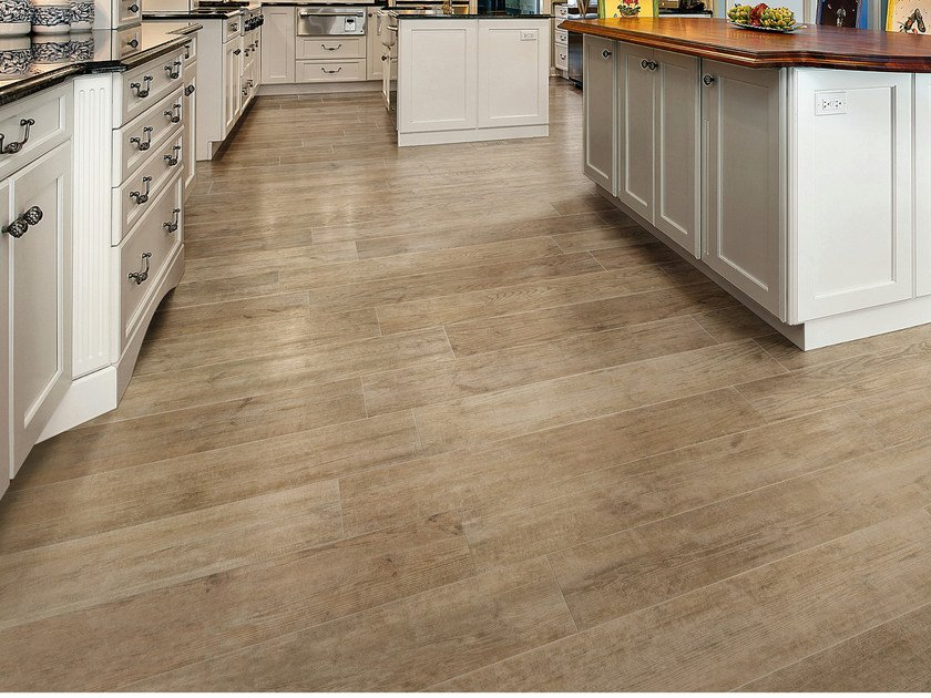 Porcelain stoneware flooring with wood effect ASPEN by CERAMICA SANTAGOSTINO