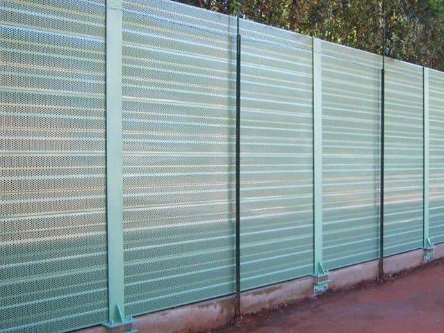 Barriera stradale antirumore barriera acustica stradale barriera acustica stradale silte - Pannelli fonoassorbenti per giardino ...