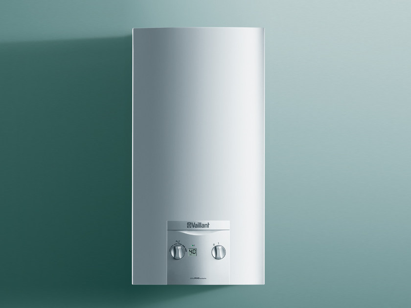 Gas water heater atmoMAG exclusiv by VAILLANT